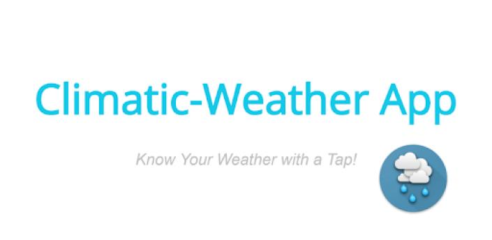 Climatic-Weather App apk