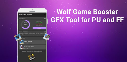 Wolf Game Booster & GFX Tool for PU and FF apk