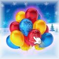 Christmas Pop The Balloon Icon