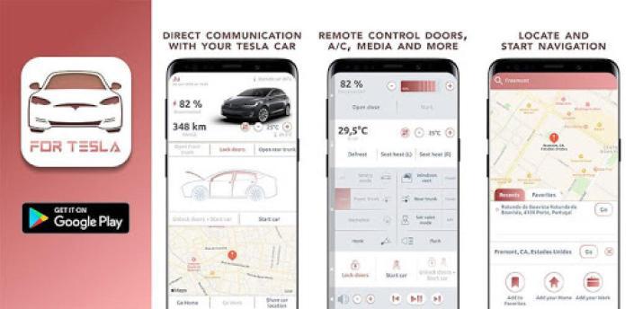 Remote T: mobile app for Tesla apk