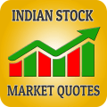 Indian Stock Market Quotes - Live Share Prices Icon