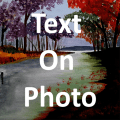 Text On Photo Icon