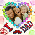 Father's Day Photo Frames Icon