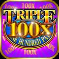 Triple 100x Slots Icon