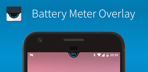 Battery Meter Overlay apk