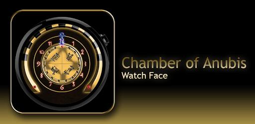 Watch Face: Chamber of Anubis - Wear OS SMartwatch apk