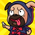 Math Games: Pug Ninja Maths Challenges Icon