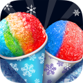 Summer Icy Snow Cone Maker Icon