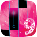 Piano Tiles Pink 9 Icon