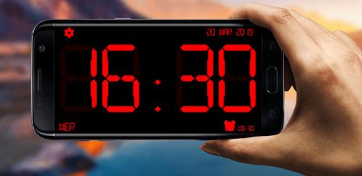 Huge Digital Clock apk