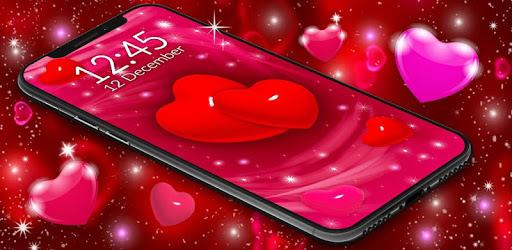 Love Live Wallpaper ❤️ 3D Hearts 4K Wallpaper Free apk