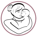 Babyhood Kids and Parents Icon