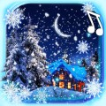 Snow Winter Night Icon