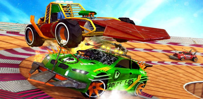 Demolition Car Crash Smash Derby Racing Ramp Stunt apk