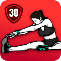 Stretching Exercises at Home -Flexibility Training Icon