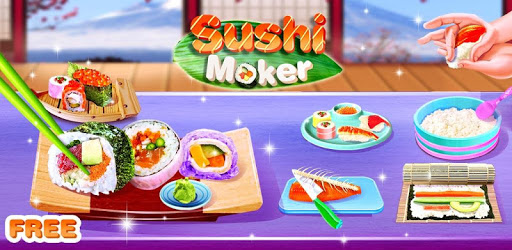 Cooking Sushi Maker - Chef Street Food Game apk