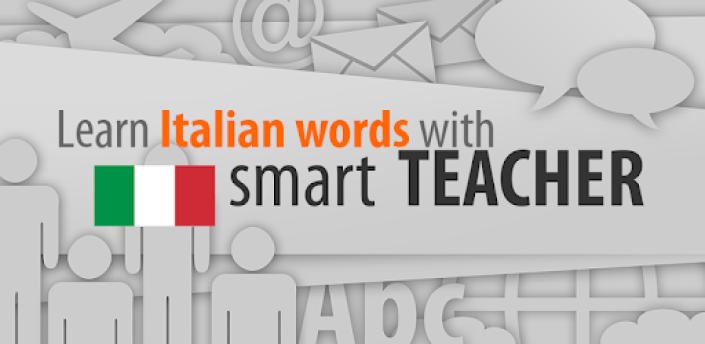 Learn Italian words with Smart-Teacher apk
