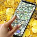 Money Live Wallpaper 🤑 Gold Coin Shine Themes Icon