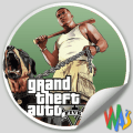 Grand Theft Auto Stickers for WhatsApp Icon