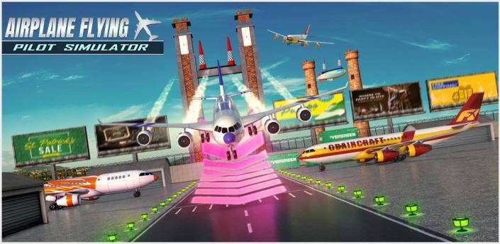 Airplane Flying Pilot Simulator apk
