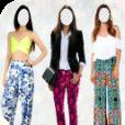 Pants Fashion Photo Montage Icon