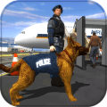 Police Dog Airport Crime Icon