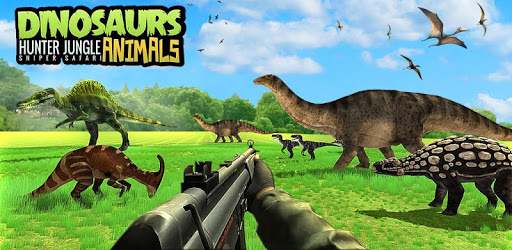 Dinosaur Hunter Free Wild Jungle Animals Safari apk
