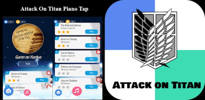 Attack on Titan Dream Piano apk