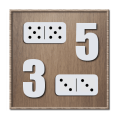 Fives and Threes Dominoes Icon