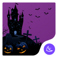 Happy Halloween night free theme🎃 Icon