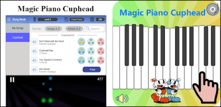 Magic Piano Cuphead apk