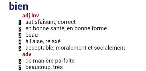 Dictionnaires Français apk