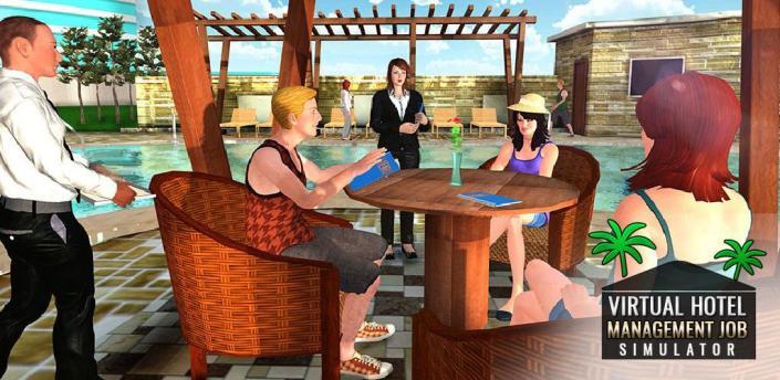 Virtual Hotel Management Job Simulator Hotel Games apk
