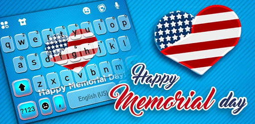 Happy Memorial Day Keyboard Theme apk