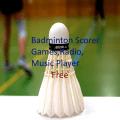 Badminton Match Scorer, music,Sudoku games Free Icon