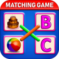 Matching Spelling And Object : Educational Game Icon