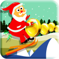 Santa Christmas Rush Icon