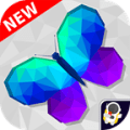 Poly Art Puzzle Free Poly Art book Icon