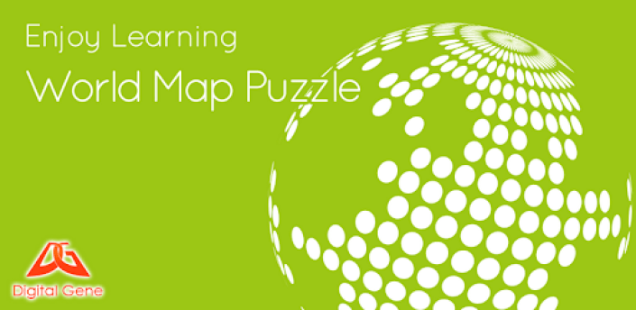 Enjoy Learning World Map Puzzle apk