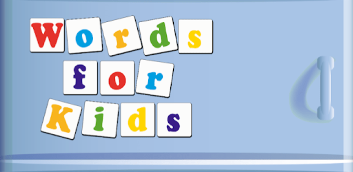Words for Kids (free) apk