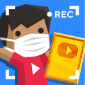 Vlogger Go Viral: Tuber Tycoon Idle Simulator Game Icon