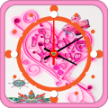 Valentine Clock Icon