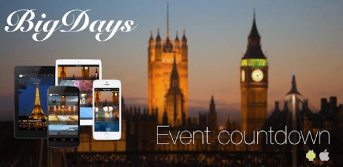 Big Days - Events Countdown apk