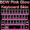 BDW Pink Glow Keyboard Skin Icon