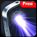 Flashlight LED with compass - Torch light Icon