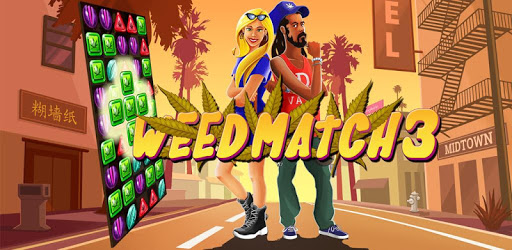 Weed Match 3 Candy Jewel - Crush cool puzzle games apk
