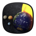 Solar System 3D Free LWP Icon