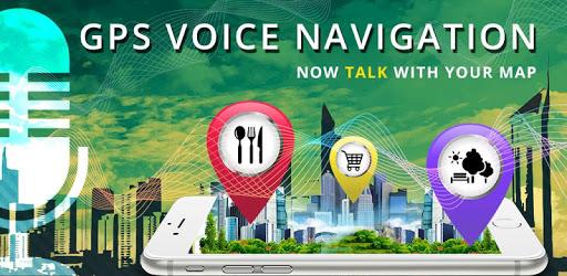 GPS Voice Navigation & Maps Route Finder apk