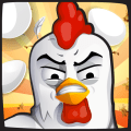Angry Chicken: Egg Madness! - Catch Chicken Eggs Icon