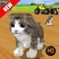 ATV Bike Cat Simulator Transport Trolley Driver Icon